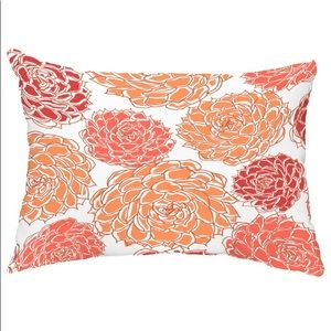 "Olivia Floral Decorative Outdoor Pillow 14""x20"""